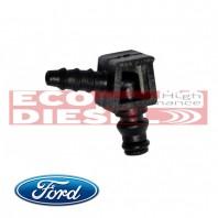 Ford Transit Injector Backleak Plastic Connector L - FORD - ECO-2014FRDTRNST2