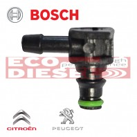 Bosch Common Rail Injector Backleak Connector L CITROEN / PEUGEOT 1,4 - ECO-2013BSCPCK1