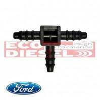 Ford Transit Injector Backleak Plastic Connector T - FORD - ECO-2014FRDTRNST3